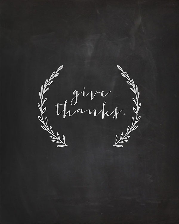 givethanks printable
