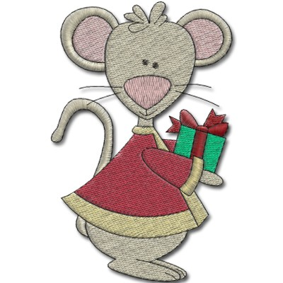 mouse-with-gift