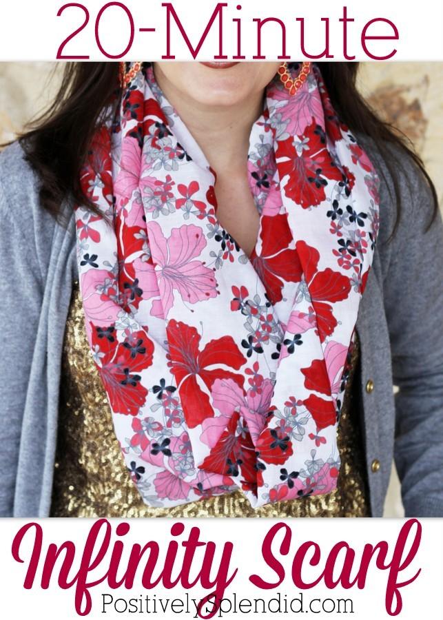 20 min scarf