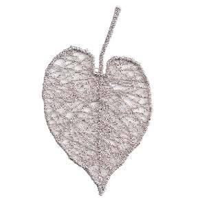 Aspen Leaf from the Sulky Embroidery Club. This would be great stitched out with Sulky Sliver Metallic Thread