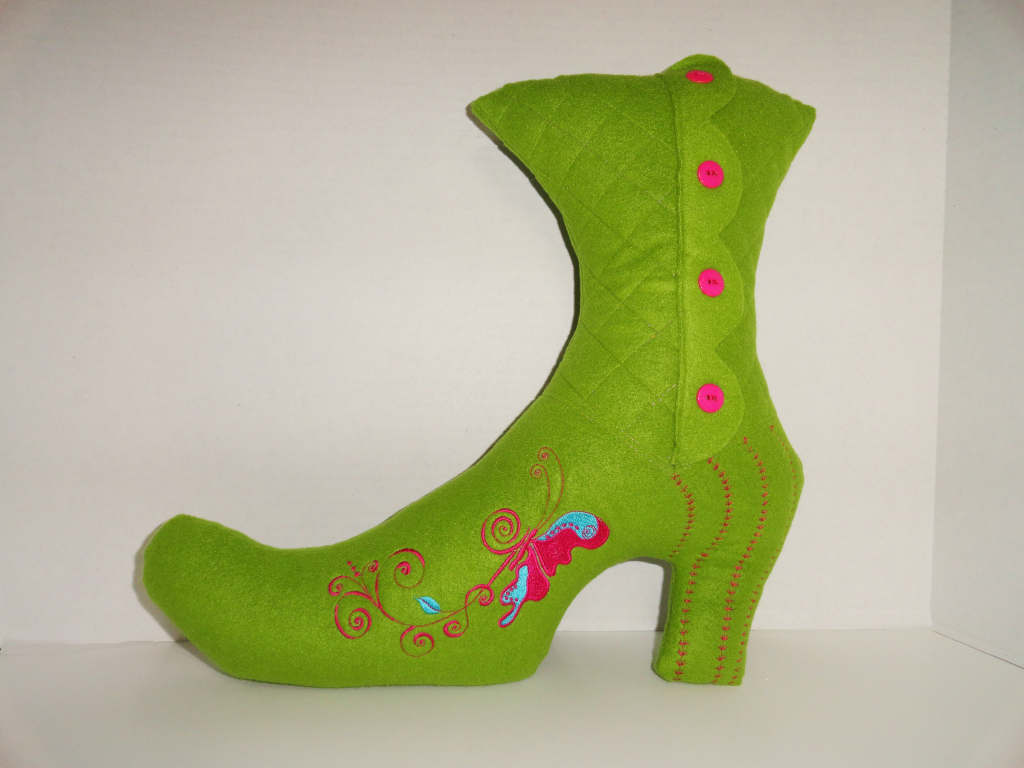 whimsical boot