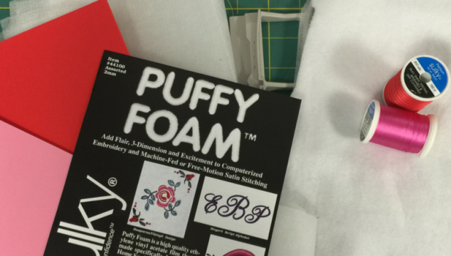 How to Use Sulky Puffy Foam
