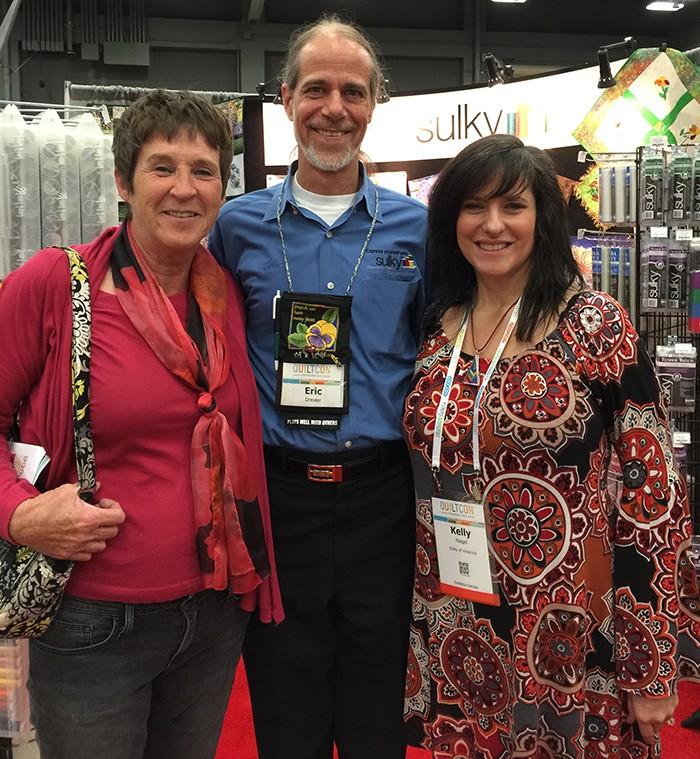 Eric Drexler, Liz Porter and me!