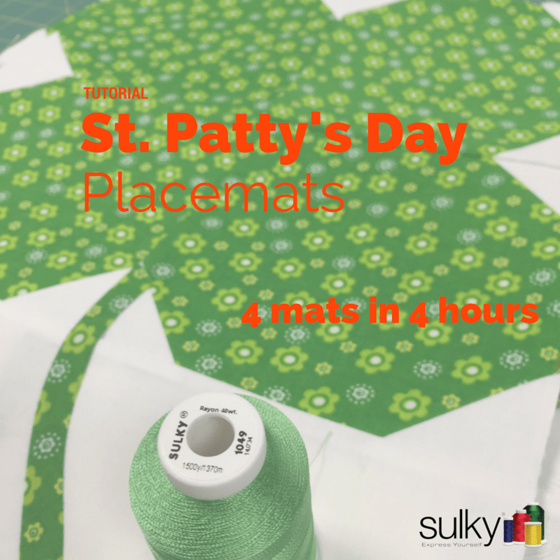 St. Patty's Day mats header