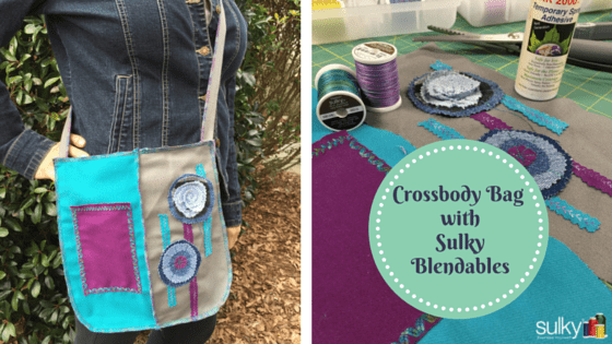 Sulky Cotton Blendables and Crossroad
