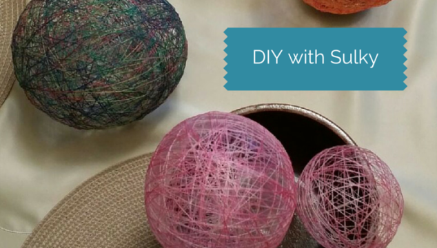 Sulky Cotton Thread & Solvy Eggs!
