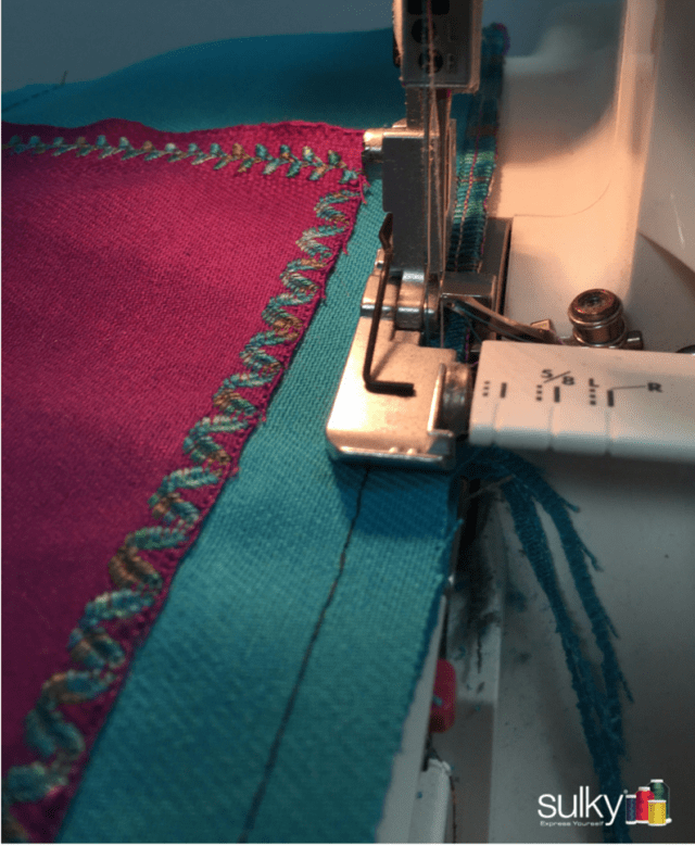 Using Sulky Blendables in a serger