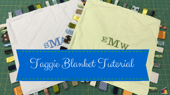 Taggie Blankets for Baby Tutorial