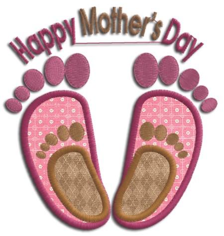 feet-up mom