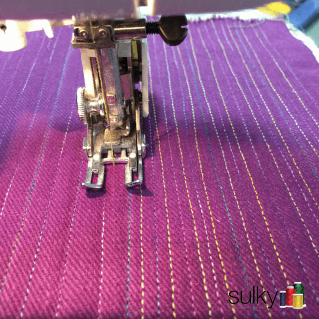 Matchstick Quilting Tutorial Sulky
