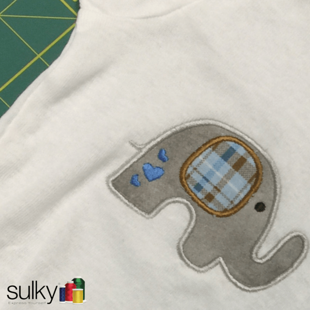 Tips For Machine Embroidery On Onesies Sulky