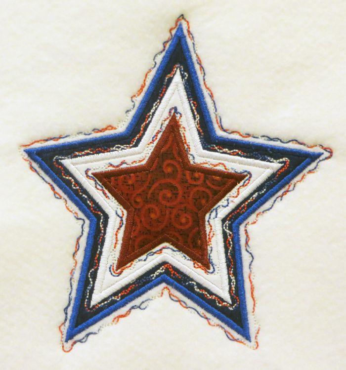 applique stars