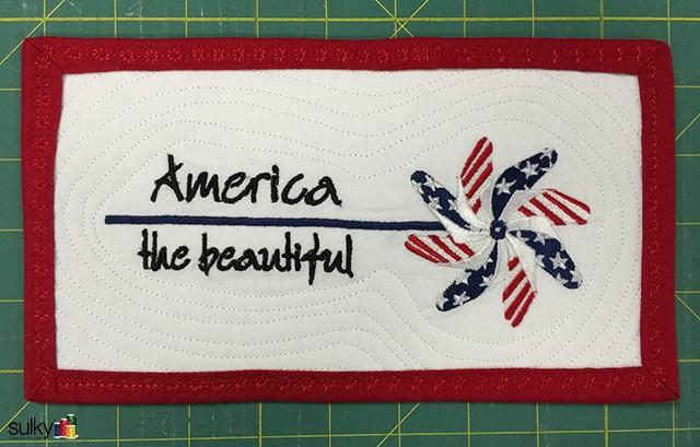 patriotic pinwheel 3