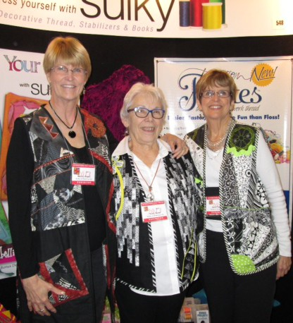 The ladies in their 2012 Round Robin vests