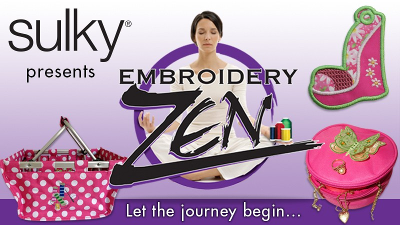 Machine Embroidery Classes Now Available Online Sulky