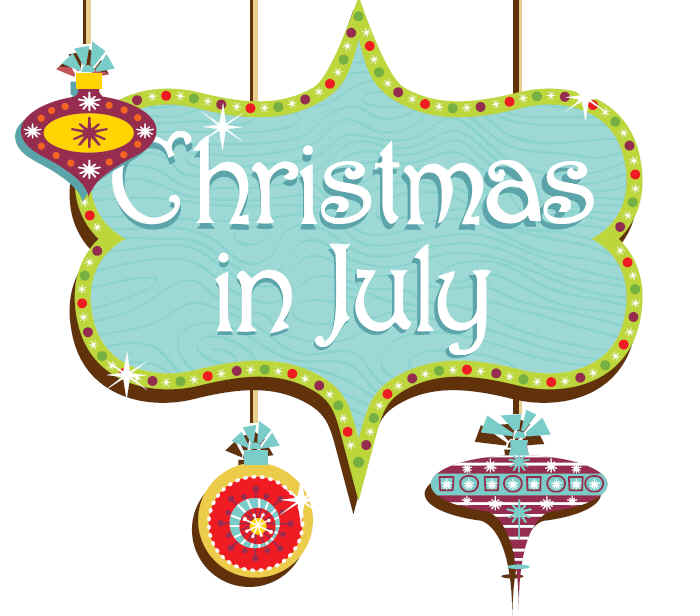 Christmas In July Clipart Free.Christmas In July With Sulky Sulky