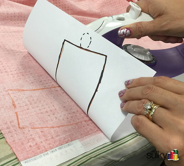 Sulky Transfers Pens can be used to iron-on designs that you draw, making