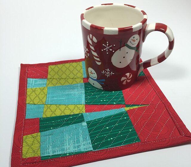 mug rug gift to sew