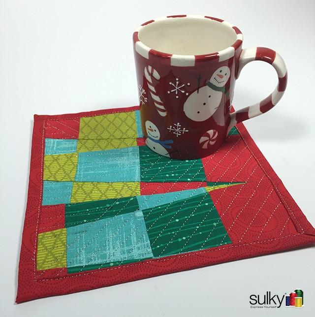 mug rug complete