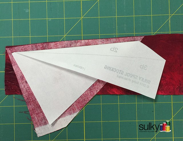 paper piecing fold over 2