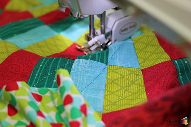 skirt thread close up