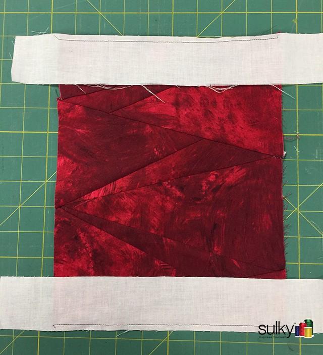 spool adding white strips