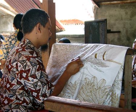 BaliBatikPainting