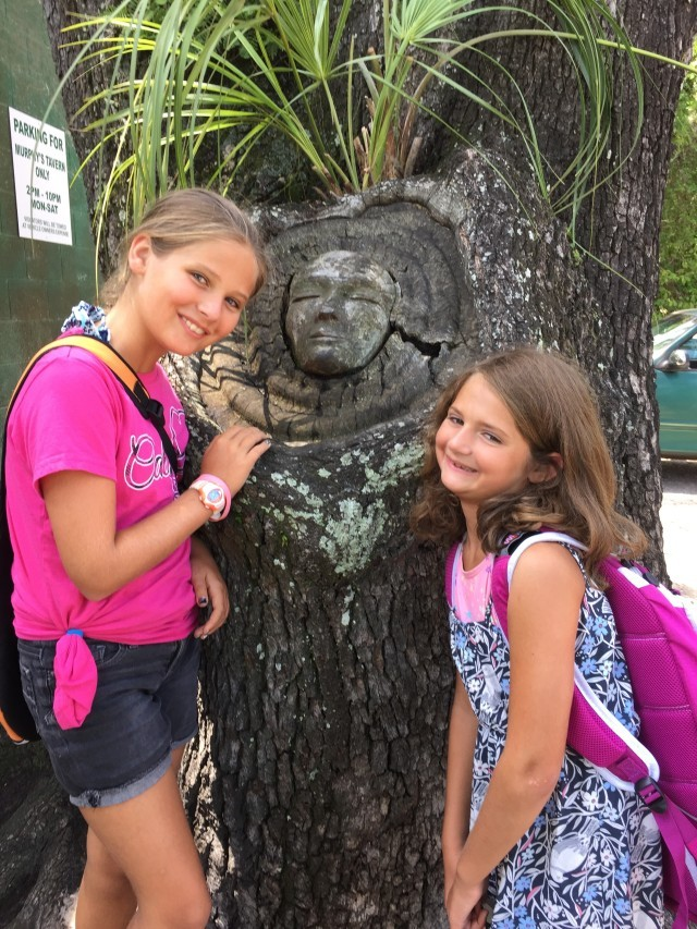 Spirit Tree carvings are all over the island but you have to know where to look!