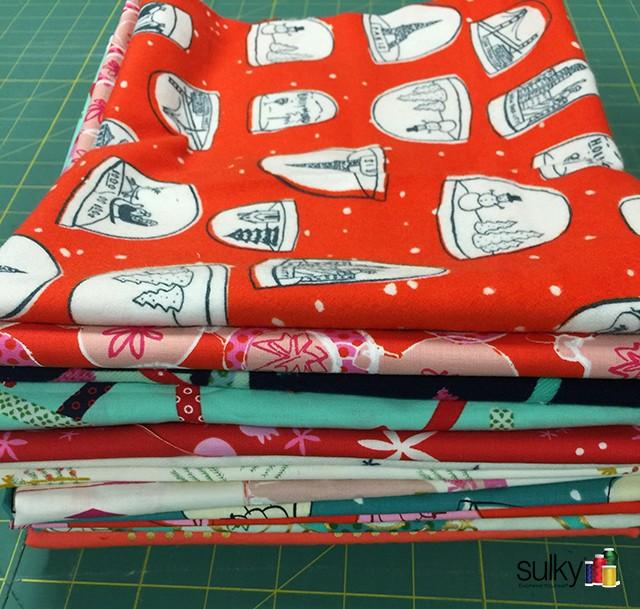 fabric folded yardage