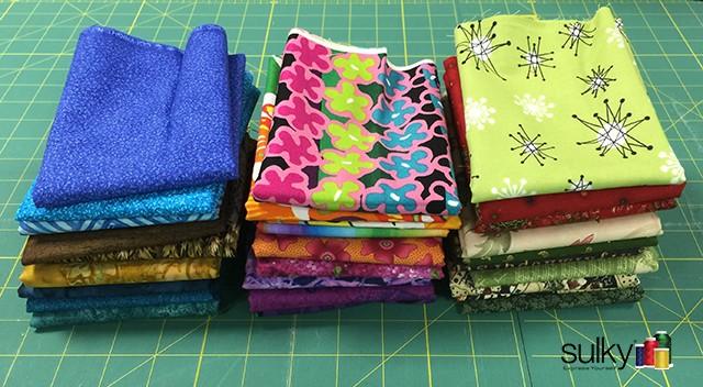 folding fabric 7