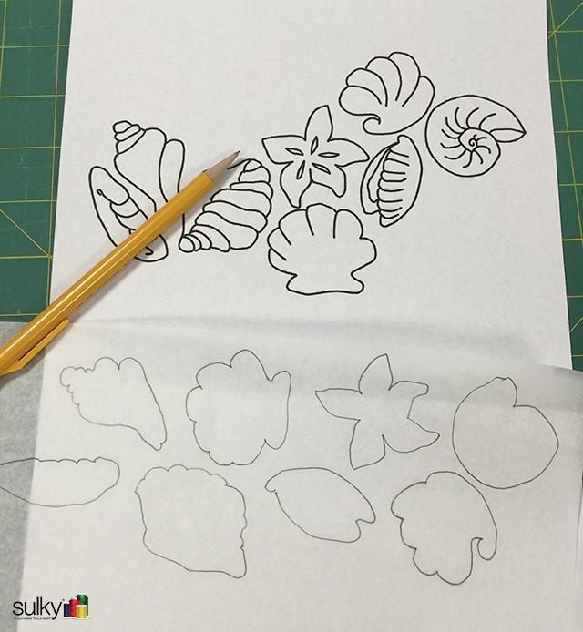 sandpaper seashell coasters 15
