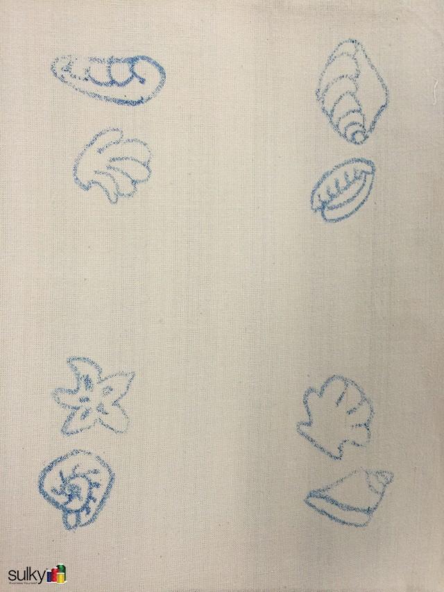 sandpaper seashell coasters 5