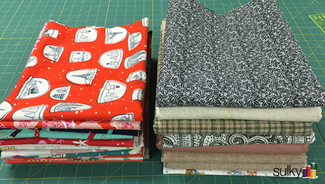 How to fold your fabric so you have room for more fabric