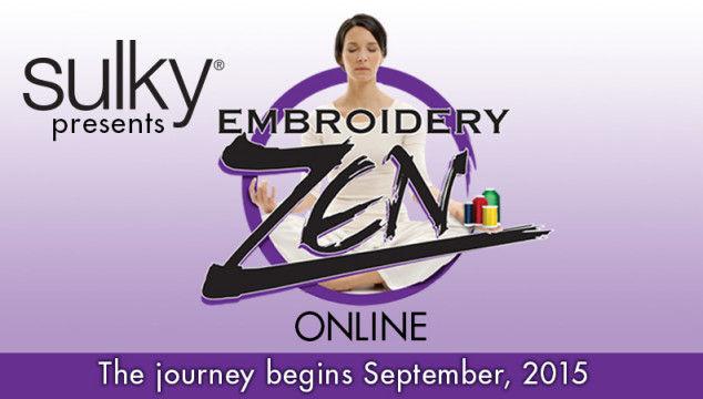Embroidery Zen is Now Available Online!