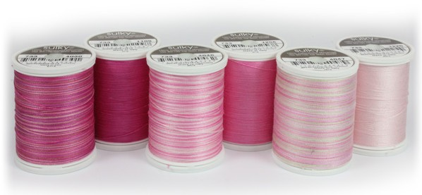 Pink Ribbon Cotton Thread Collection