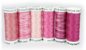 Pink Ribbon Petites Thread Collection