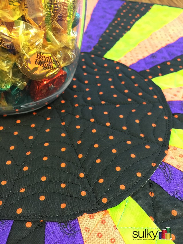 Halloween Table topper 3