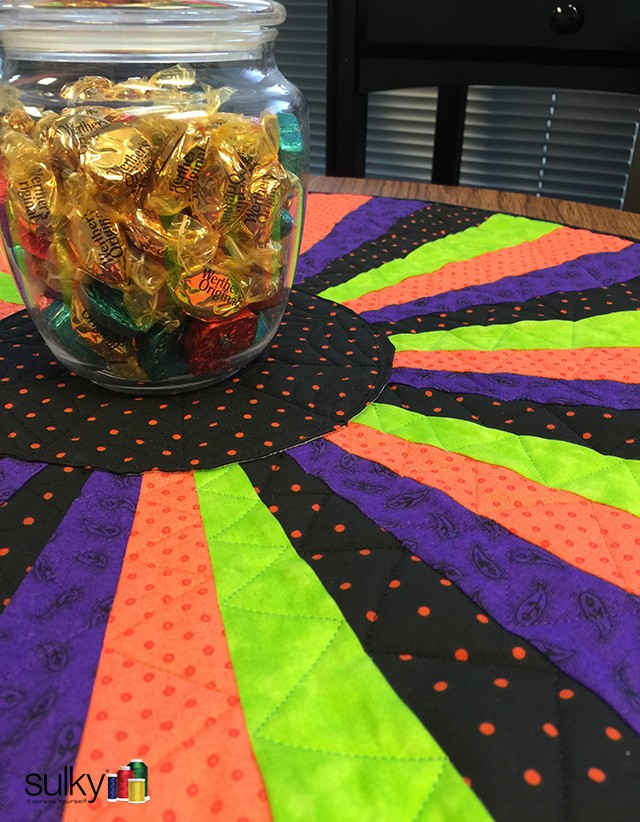 Halloween Table topper 4