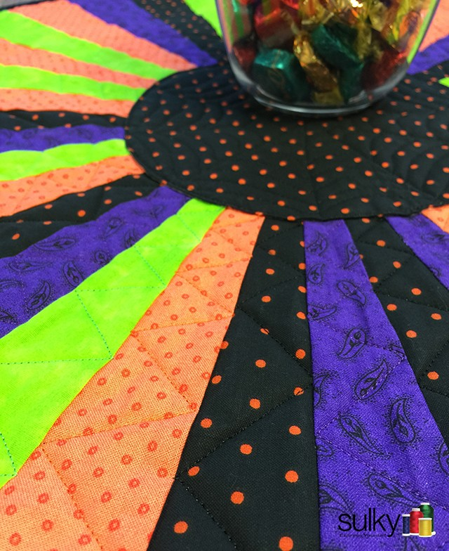 Halloween table topper 2