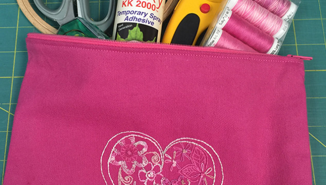 Cancer Fighting Zipper Bag Tutorial
