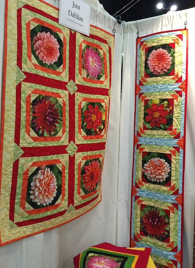 Just Dahlias from red Rooster Fabrics