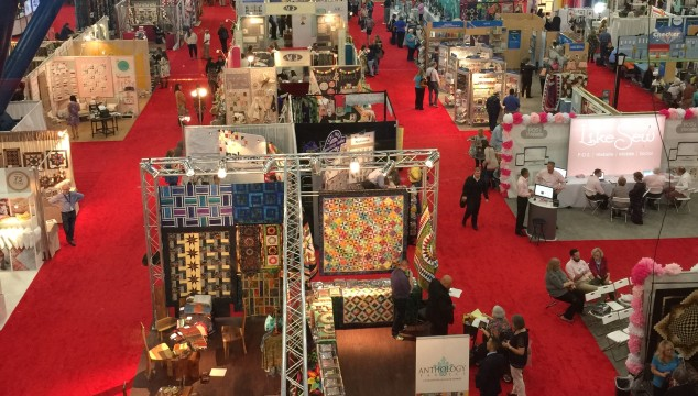 What it's like to go to The Greatest Quilt Show On Earth