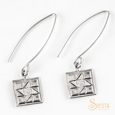 friendship star earrings