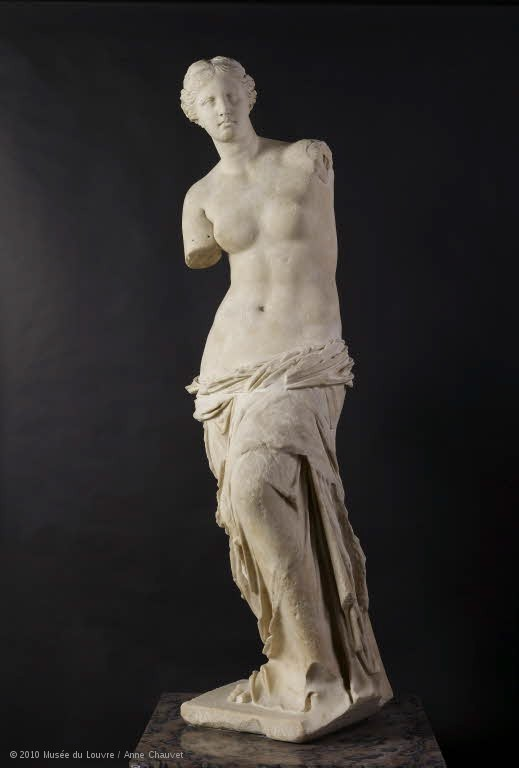 Venus de Milo in the Louvre in Paris