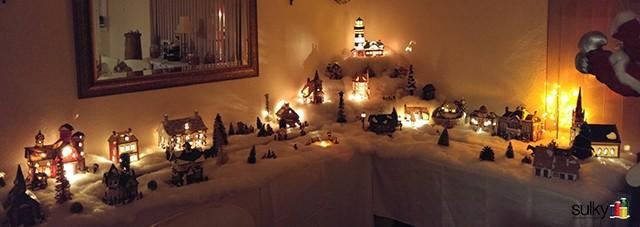 Eric's Christmas Village