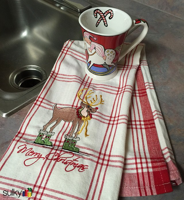 boots kitchen towel