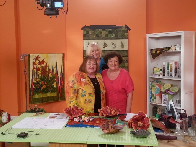 Carol Ingram with Ellen Osten and Joyce Drexler