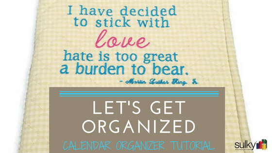 Calendar and 'To-Do List' Organizer – Tutorial