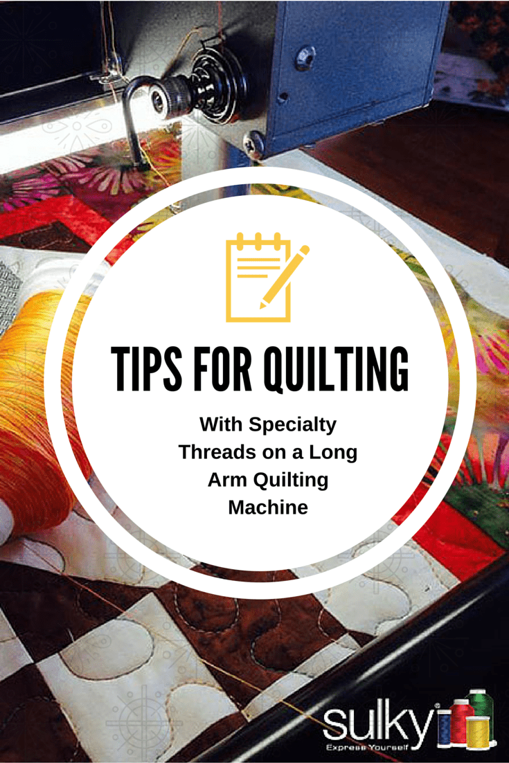 Tips For Quilting on LA