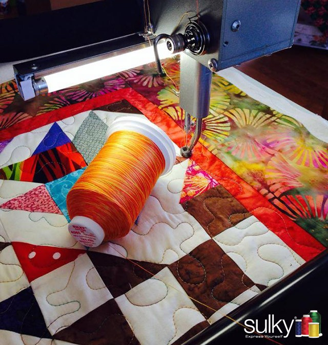 Best Threads For Machine Quilting: Tips For Using All Sulky Threads On Longarm Machines